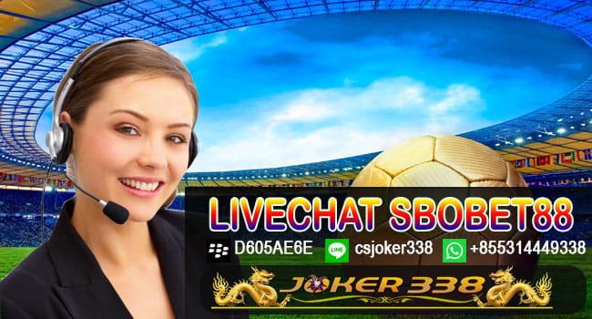 Livechat Sbobet88